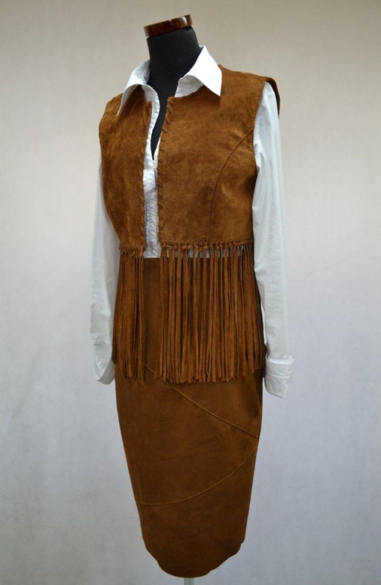 Komplet: kamizelka BEATA + spódnica BETI